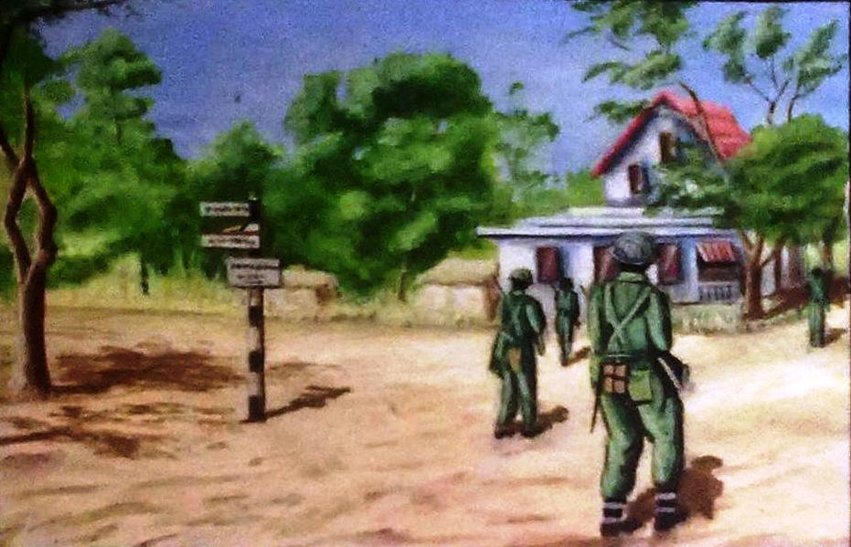 troops entering Pakokku 2