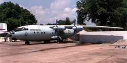 Antonov An-12 at the IAF Museum