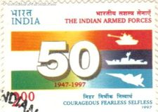 Indian Armed Forces - Fifty Years