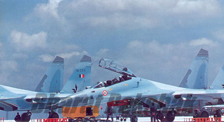 Su-30 on induction day