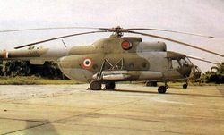 Z1380 is from the first batch of Mi-8s to have been procured in 1971