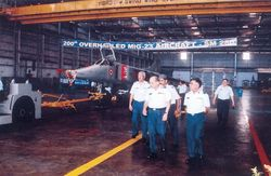 Passing-out Ceremony of 200th Overhauled MiG 23