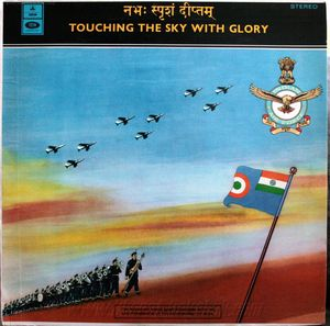LP Album Record - Touching the sky with Glory (1972)