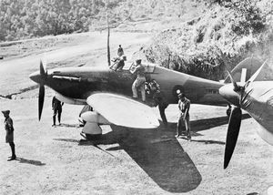 Hurricane IIB ready for a sortie