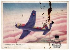 1943 Post Card - Vultee Vengeance - Front