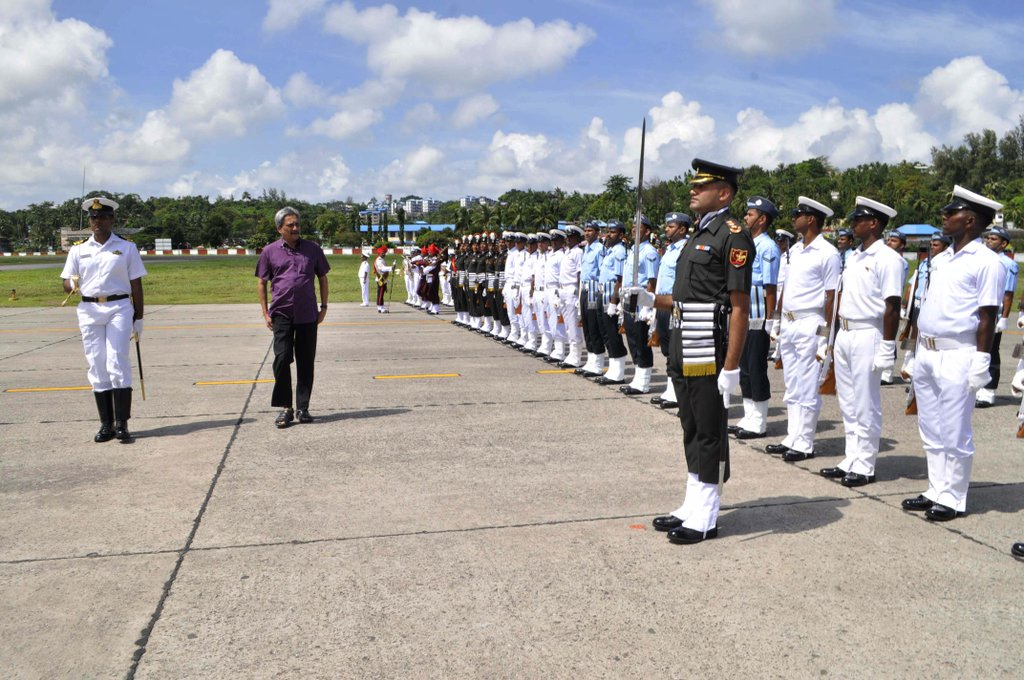 Parrikar in Andamans